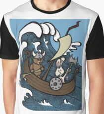 Teddy Bear And Bunny - Rape And Pillage  Graphic T-Shirt
