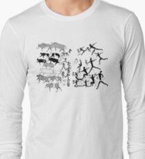 Bushmens, australia, dated 1887 Long Sleeve T-Shirt