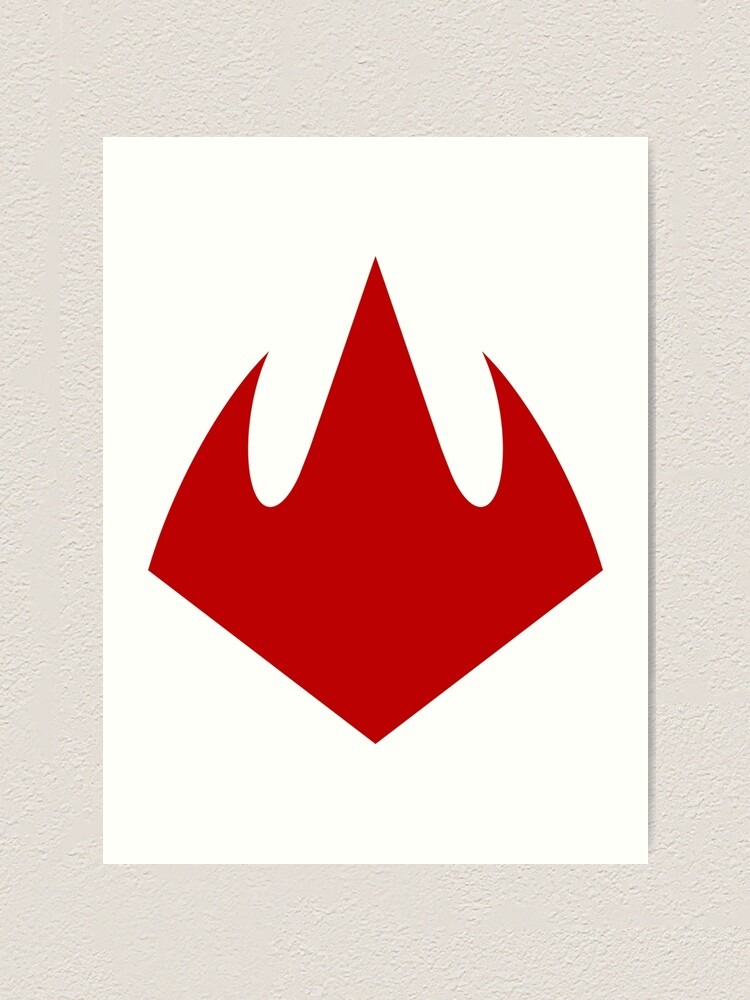 Foot Clan Logo Art Print By Stayunspoiled Redbubble