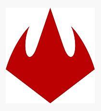 Foot Clan Logo Photographic Print