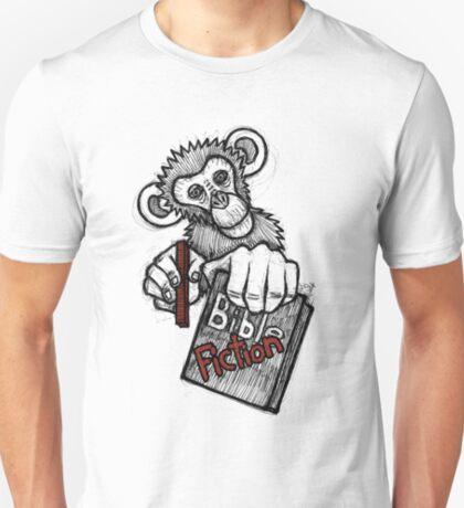 Monkey Bible Fiction T-Shirt