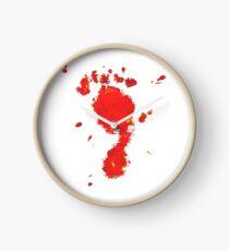 Bloody Foot Clan Clock