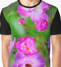 Rambling Rose Graphic T-Shirt