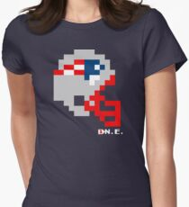 NE Helmet - Tecmo Bowl Shirt Womens Fitted T-Shirt