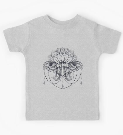 ornamental Lotus Kids Clothes