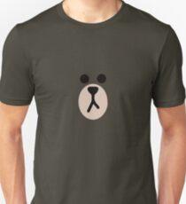 Linie Freunde Braunbär Slim Fit T-Shirt