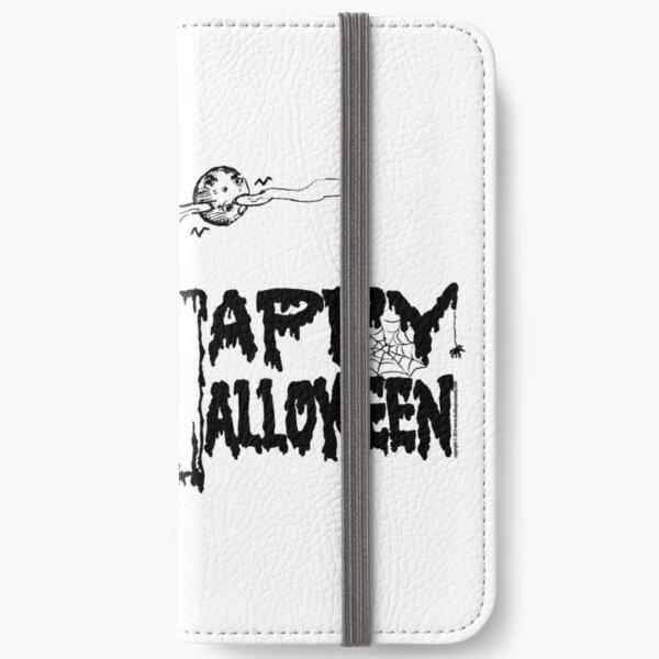 Halloween Skeleton Duck - Duck Logic iPhone Wallet