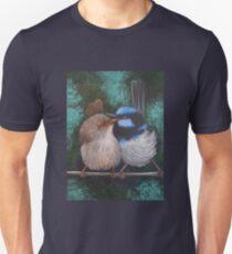 Fairy Wren Pair #1 Unisex T-Shirt