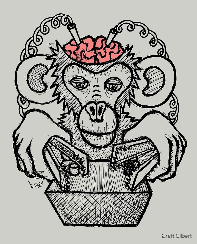 Shock the Monkey by Brett Gilbert