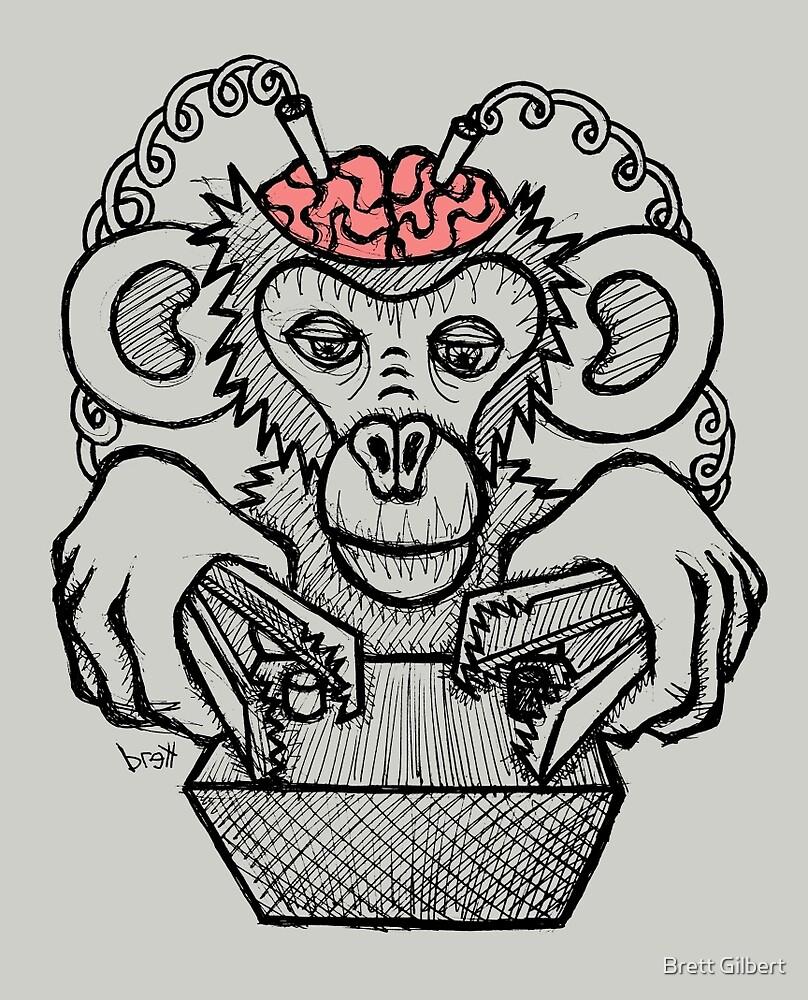 Shock the Monkey by Brett Gilbert