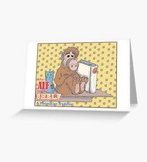 ALF on the Shelf Greeting Card