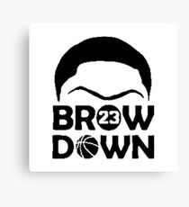 The Brow Canvas Print