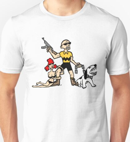 Bad Ass Charlie Brown T-Shirt