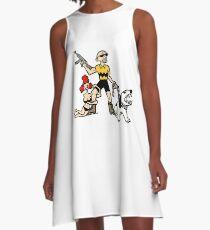 Bad Ass Charlie Brown A-Line Dress