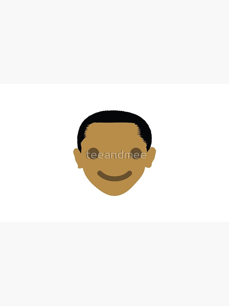 "Barack ""The Emoji"" Obama Happy Smiling Face by teeandmee"