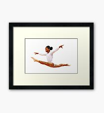 Gymnast  Framed Print