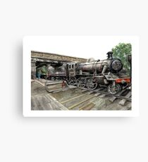 Loughborough Train Station  Canvas Print