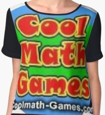 Cool Math Games Chiffon Top