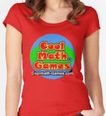 Cool Math Games Women's Fitted Scoop T-Shirt