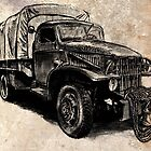 World War 2 Allied Army Truck by olivercook