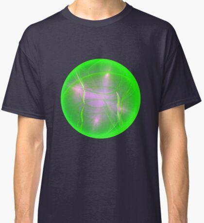Green light planet #Fractal Art Classic T-Shirt