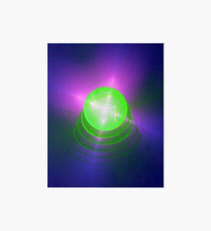 Green light planet #Fractal Art Art Board