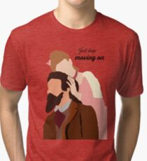 dot and george Tri-blend T-Shirt