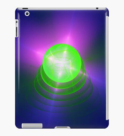 Green light planet #Fractal Art iPad Case/Skin