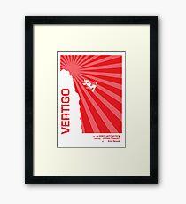Alfred Hitchcock - Vertigo Framed Print