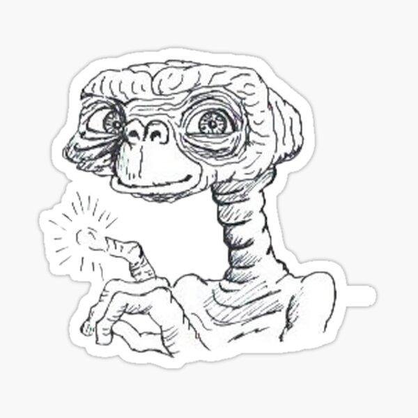 E.T Sticker