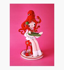 Octopus Girl Photographic Print