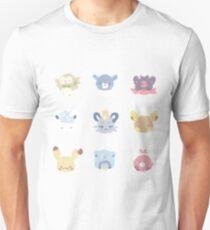 Pokemon Sun and moon kawaii sticker batch T-Shirt