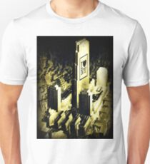 i love  new york dated 1887, collage T-Shirt