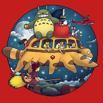 Ghibli World by hodgify