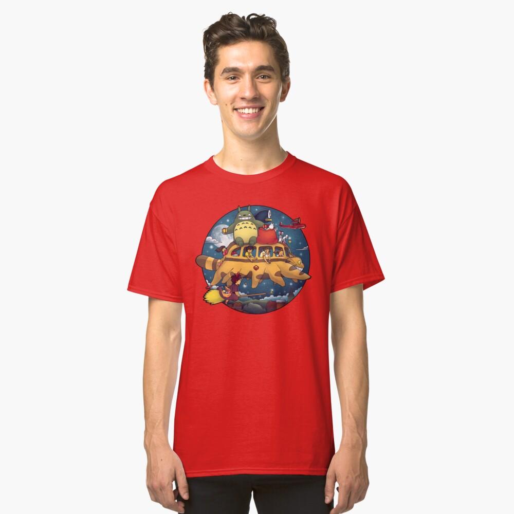Ghibli World Camiseta clásica