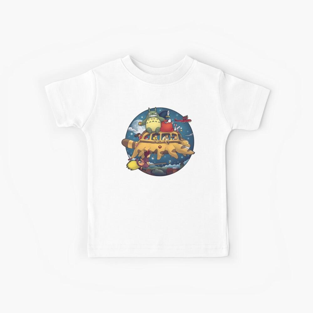 Ghibli World Camiseta para niños