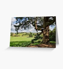 East Devon Landscape Greeting Card