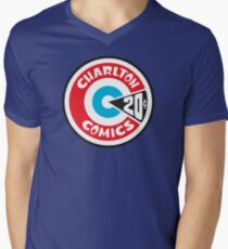 Charlton Comics Men's V-Neck T-Shirt