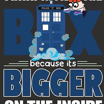 Dexter Laboratory meets Tardis by nathdesign