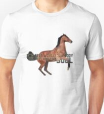 Two feet move your body, four feet move your soul - equestrian Unisex T-Shirt