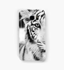 Eye of the White Tiger Samsung Galaxy Case/Skin