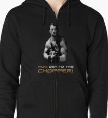 Predator - Design 3 - Chopper Zipped Hoodie