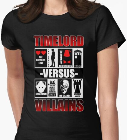 Time versus Villains T-Shirt