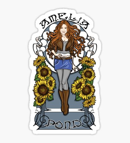 The Girl Who Waited  Sticker