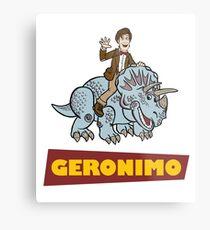 """""""Geronimo"""" Metal Print"""