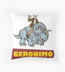 """Geronimo"" Throw Pillow"