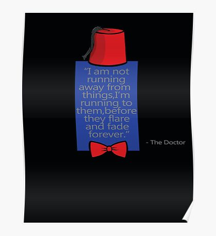 """To Quote The Doctor"" Poster"
