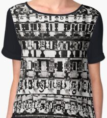 Graphic by Numbers Chiffon Top