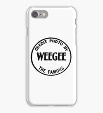Weegee iPhone Case/Skin