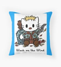 Wash on the Wind Throw Pillow